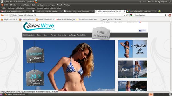 bikini-wave : maillots de bains et ensembles exclusifs sur le web