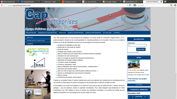 senior entreprise : lancement le 4 janvier 2013