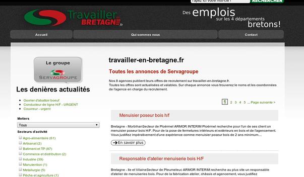 servagroupe lance son site d annonces d emplois