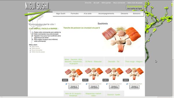 nigui sushi saint-brieuc, pour creer son site internet