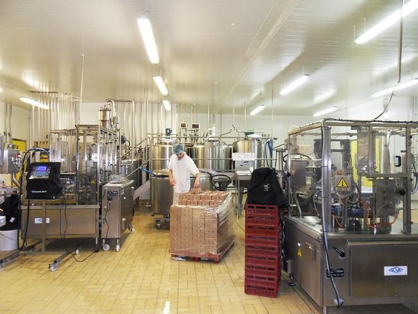 cabinet d architecte d isabelle guillemin a loudeac: extensiond une usine de yaourts